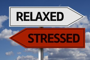 relaxed-stressed